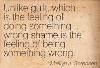 shame vs guilt
